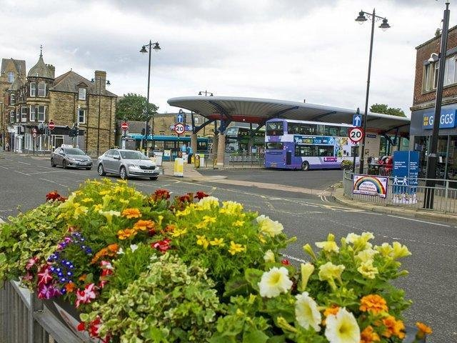 Pudsey Bus Station.