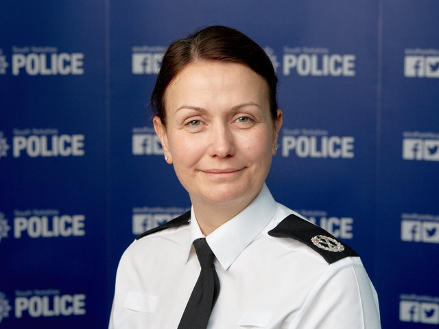 South Yorkshire Police Chief Constable Lauren Poultney.