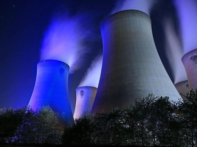 Drax Power Station near Selby