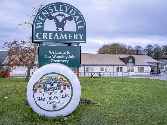 Wensleydale Creamery in Hawes