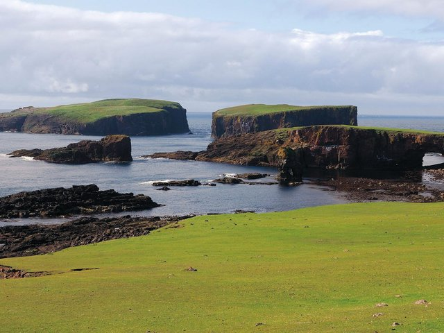 Shetland is a remote but breathtaking place. (Picture: Getty images).