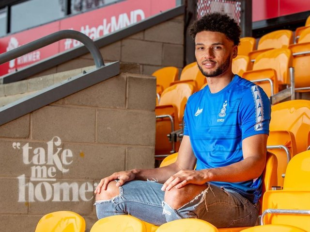 SIGNING: Lee Angol has joined Bradford City
