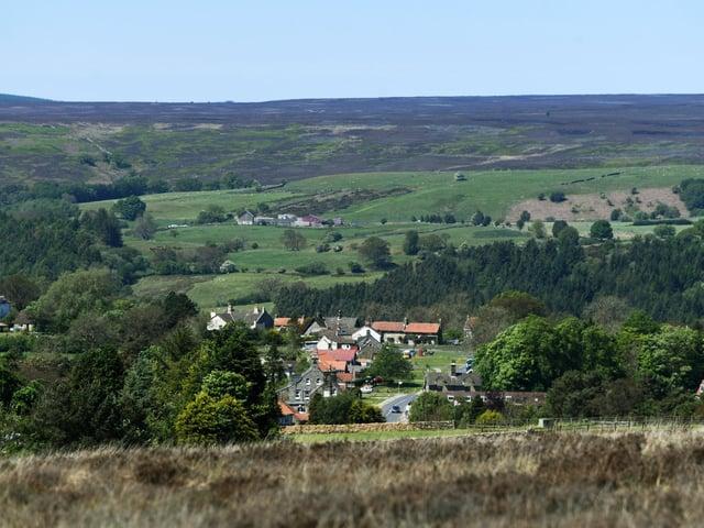 The scenic North York Moors