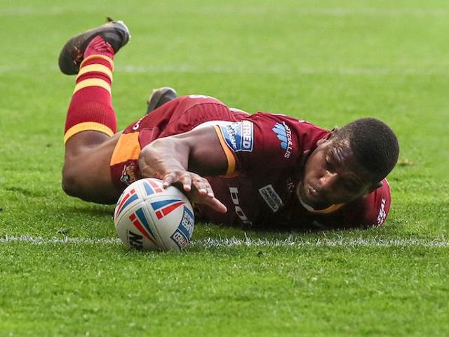 England World Cup hopeful Jermaine McGillvary is included in the All Stars' squad. Picture by Paul Currie/SWpix.com.