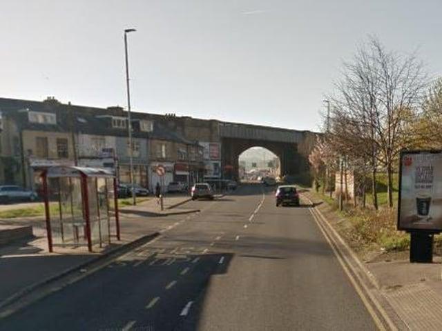 Bradford Road in Huddersfield