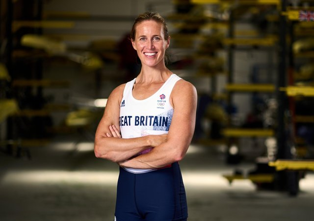 Helen Glover is rowing in the Tokyo Olympics  picture: John Walton/PA.
