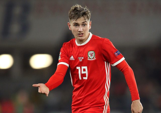Wales' David Brooks. Picture: Tim Goode/PA Wire.