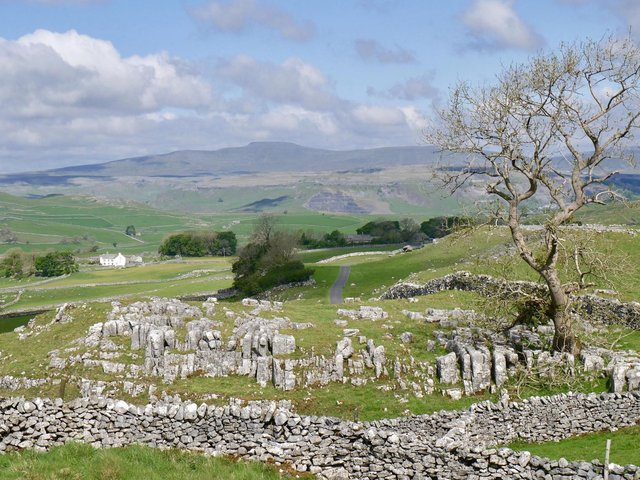 Ingleborough's natural landscape has suffered from intensive farming