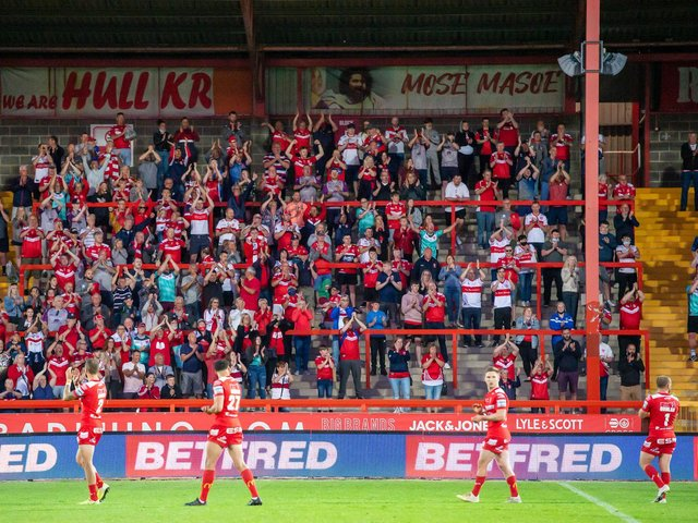 POSTPONEMENTS: Hull KR have had their next three Super League fixtures postponed due to Covid-19 issues. Picture: Allan McKenzie/SWpix.com