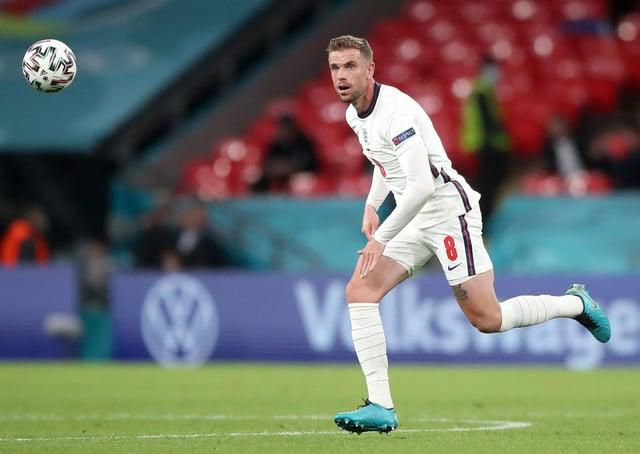 England's Jordan Henderson. Picture: PA