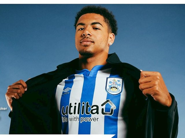 New Huddersfield Town signing Levi Colwill. Picture courtesy of Huddersfield Town AFC.