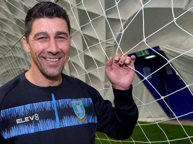 New Sheffield Wednesday goalkeeper coach Adriano Basso. Picture courtesy of SWFC.