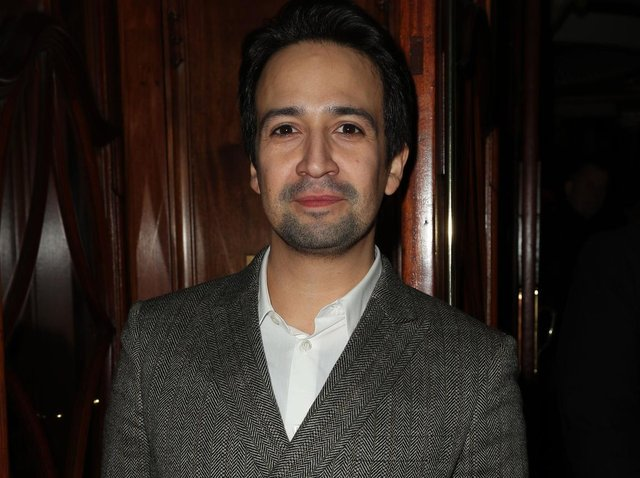 Lin-Manuel Miranda attending opening night of Hamilton at the Victoria Palace Theatre, London in 2017. Picture: Jonathan Brady/PA