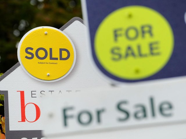 The average property price in Yorkshire is now £197,743