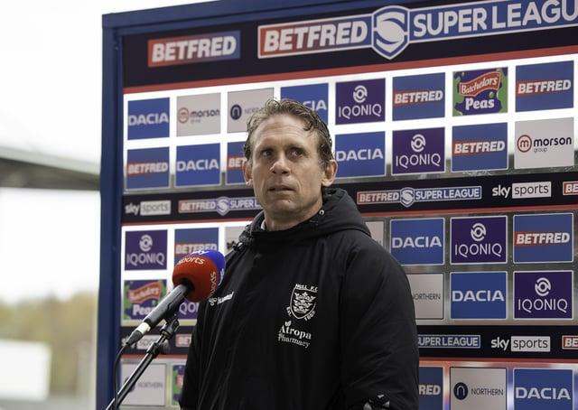 Proud: Hull FC coach Brett Hodgson. Picture by Allan McKenzie/SWpix.com