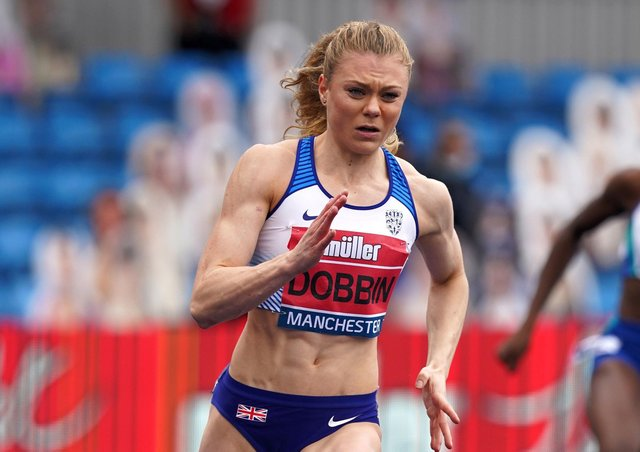 Made it: Great Britain's 200m runner Beth Dobbin from Doincaster has qualified for the Tokyo Olympics. Picture: Martin Rickett/PA Wire.