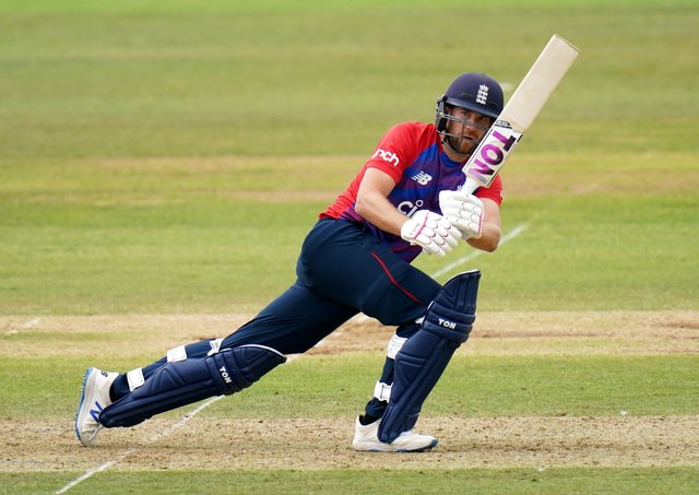 TOP MAN: Yorkshire's Dawid Malan guides one through square during his match-winning knock for England in the T20 clash with Sri Lanka at The Ageas Bowl. Picture: Adam Davy/PA