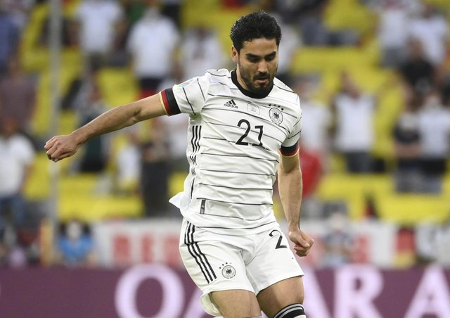 Midfield lynchpin: Ilkay Gundogan, the German midfielder, can be Joachim Low's greatest weapon but also one of his biggest weaknesses due to his lack of bite. (Picture: PA)