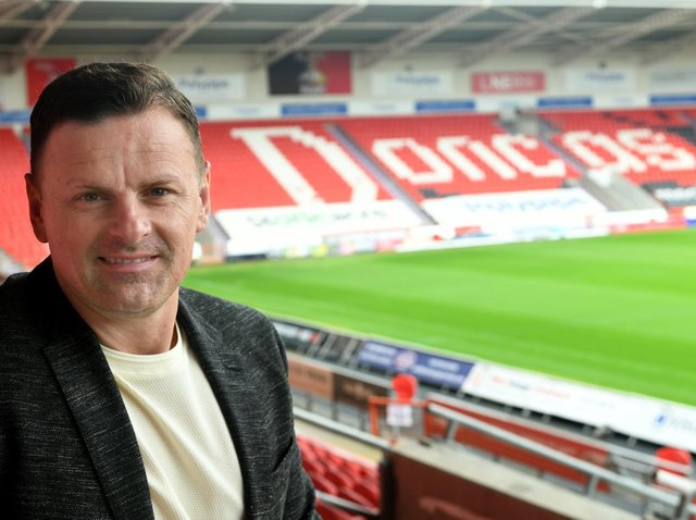 TARGETS: Doncaster Rovers manager Richie Wellens