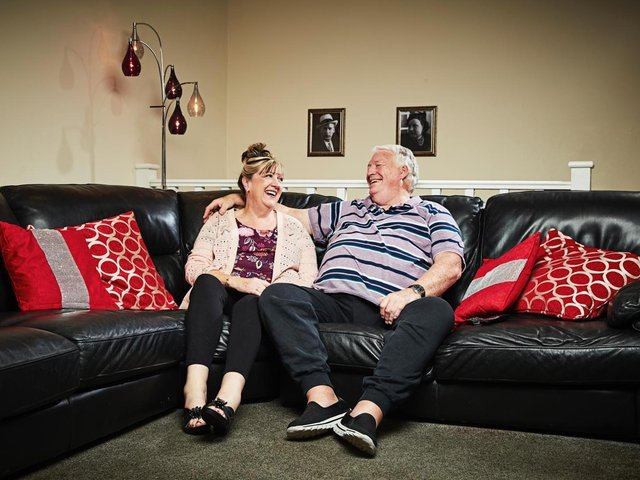 Undated Channel 4 handout photo of Gogglebox stars Linda and Pete McGarry. Mr McGarry has passed away at the age of 71 over the weekend following a short illness. Issue date: Monday June 28, 2021.