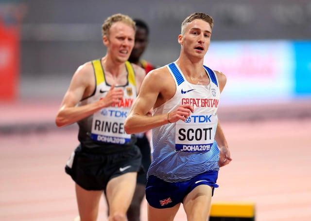Great Britain's Marc Scott: Tokyo-bound.