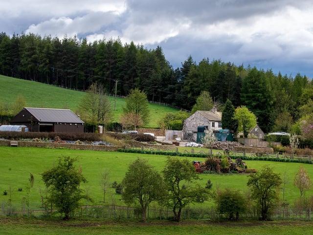 Nutter Cote Farm in Thornton-in-Craven, near Skipton