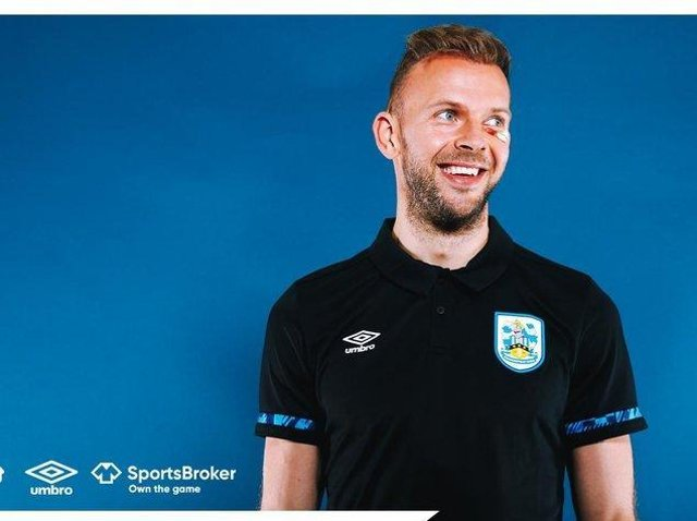 Huddersfield Town signing Jordan Rhodes. Picture courtesy of Huddersfield Town AFC.