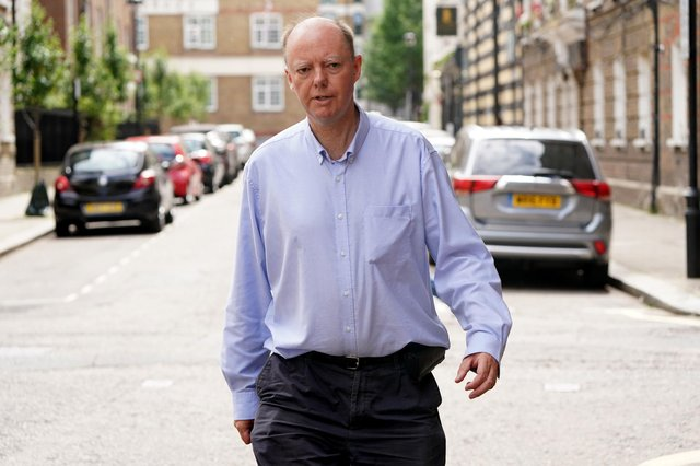 Professor Chris Whitty, the chief medical officer, has been accosted in the street.