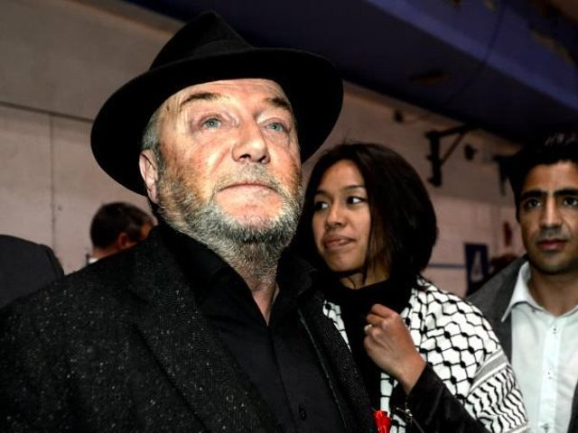 Veteran politician and campaigner George Galloway