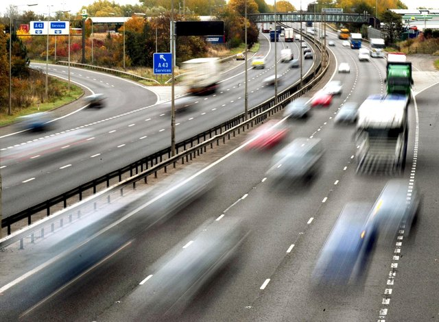Smart motorways are said to be statistically safer