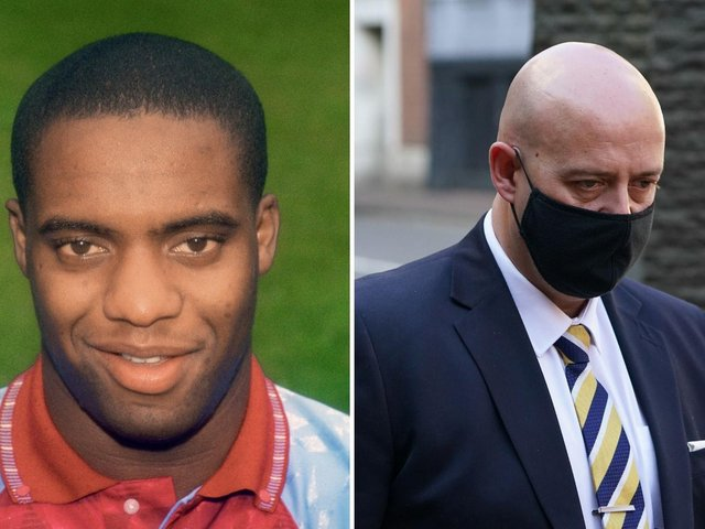 Benjamin Monk (right) was jailed for eight years over the death of Dalian Atkinson