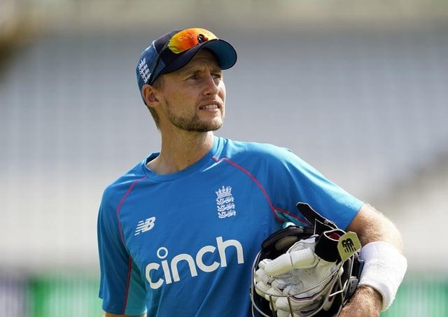 England's Joe Root.