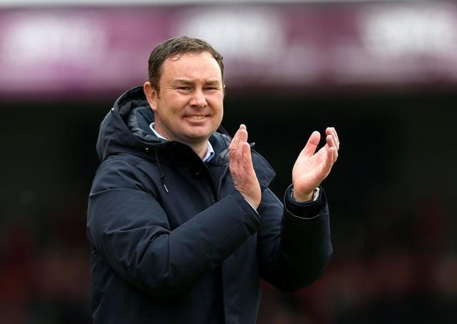 Bradford City manager Derek Adams.