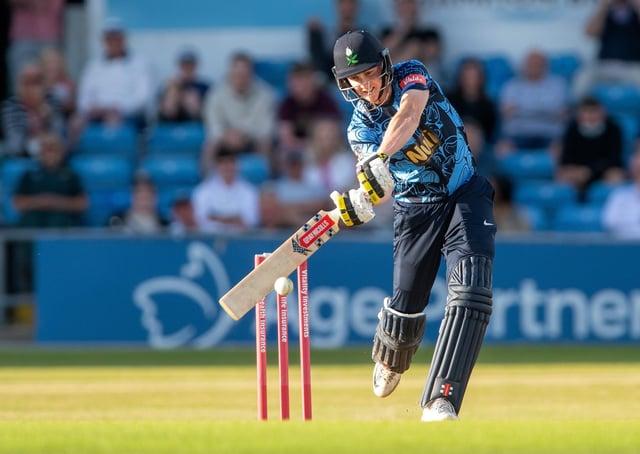 Consistent: Yorkshire batsman Harry Brook. Picture: Bruce Rollinson