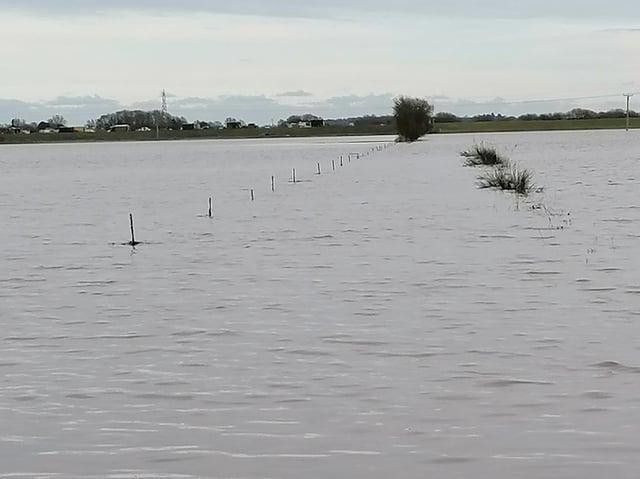 Flooding at Lakes Farm, Scorborough