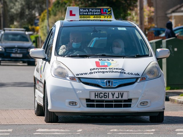 Where you can take your driving test in South Yorkshire