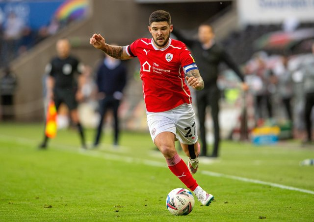 Alex Mowatt. Barnsley captain is set to join Valerien Ismael at West Brom. (Picture: Bruce Rollinson)