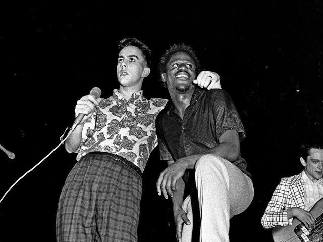 The Specials were among the bands performing at the concert. Picture: Syd Shelton