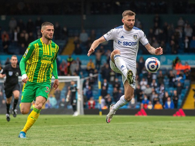 INDISPENSABLE: Stuart Dallas has made himself crucial to Leeds United