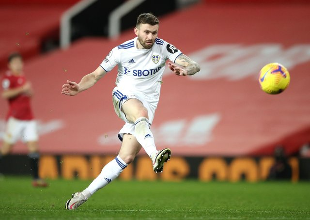 Mr Versatile: Leeds United's Stuart Dallas has become an indispensible part of Marcelo Bielsa's squad due to the fact he can play several positions. Picture: Nick Potts/PA Wire.