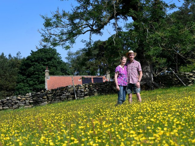 The Sandersons are National Trust tenants in Bransdale in the North York Moors