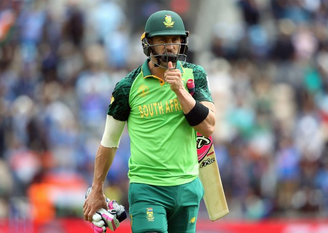 South Africa's Faf Du Plessis (Picture: PA)