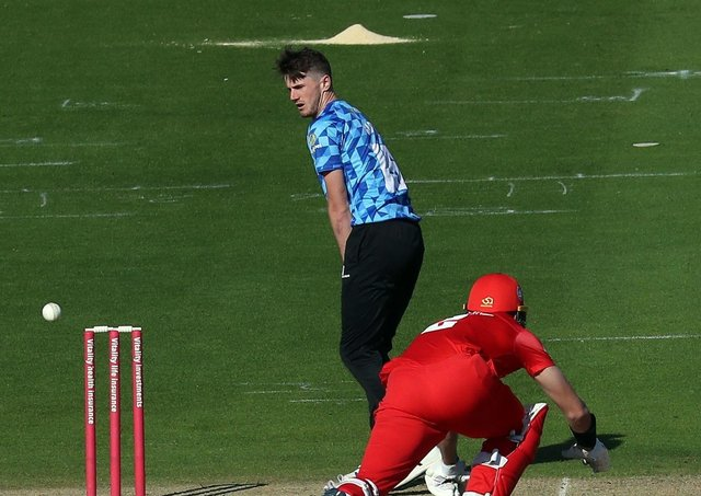 George Garton has impressed in this summer's Vitality Blast with Sussex.