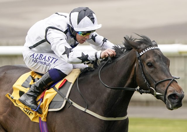 Mystery Angel represents George Boughey and Nick Bradley Racing in today's Merseyside Oaks at Haydock.