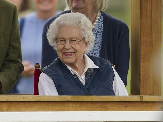 Queen Elizabeth II at the Royal Windsor Horse Show, Windsor