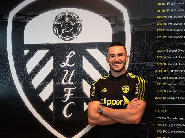 SIGNING: Jack Harrison has finally joined Leeds United permanently