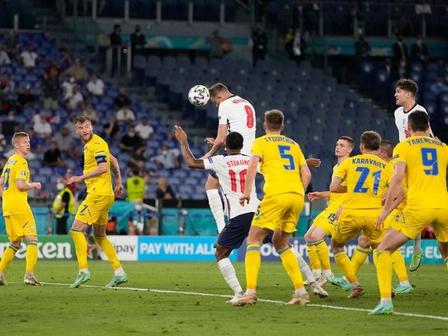 GOAL: Jordan Henderson makes it 4-0 for England