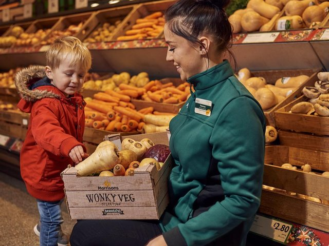 Bradford-based Morrisons is one of the best known brands in Britain
