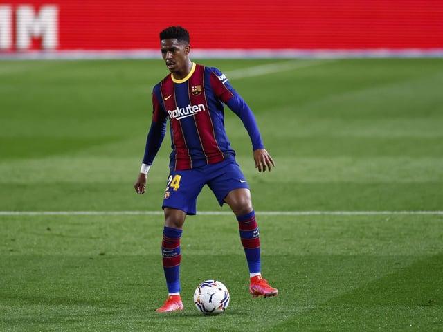 TARGET: Barcelona left-back Junior Firpo is set to join Leeds United