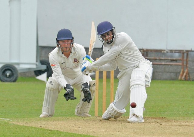 Townville scored 268-4 at home to Cleckheaton. Picture: Steve Riding